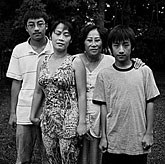 Binh with Loan and her two grandchildren